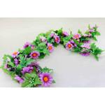 Гирлянда из искусственных цветов (Ромашки)