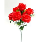 Букет из полураскрытых роз