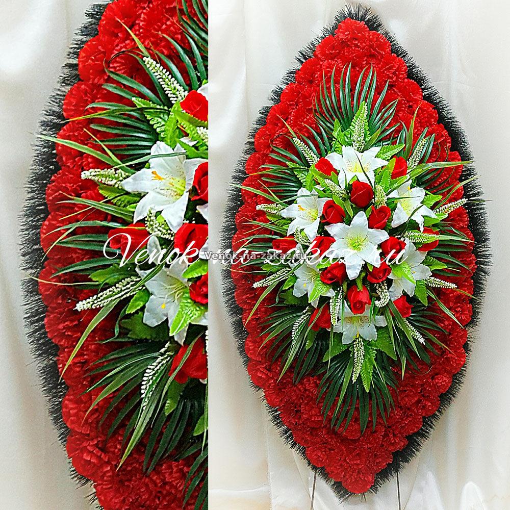 Элитные венки из искусственных цветов